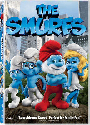 The Smurfs [New DVD] Ac-3/Dolby Digital, Dolby, Dubbed, Subtitled, Widescreen