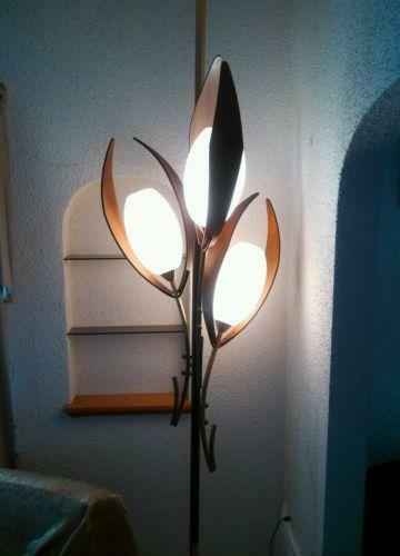 Antique Pole Lamp Ebay