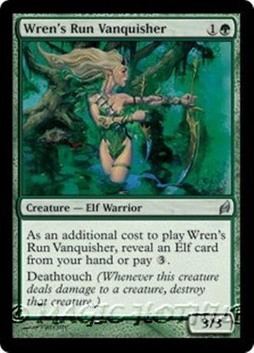 TWINBLADE SLASHER Eventide MTG Green Creature — Elf Warrior Unc