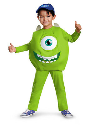 Toddler Monsters Inc. Deluxe Mike Costume