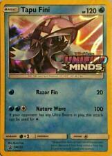 Pokemon Unified Minds Prerelease 4 Sealed Evolution Packs Set Tapu Fini Necrozma