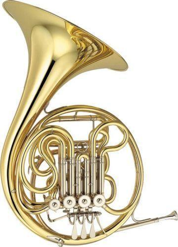 the history of the french horn The modern orchestral brass french horn was an invention based on early hunting horns horns were first used as musical instruments during 16th century operas during the 17th century, modifications to the bell end (larger and flared bells) of the horn were made and the cor de chasse, or french horn as the english called [.