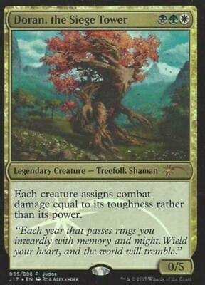 Foil Doran, the Siege Tower Judge Promo  NM  MTG Magic the Gathering