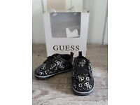 Baby Designer Guess Shoes Size 1.5UK. Approx age 3 months