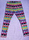 Women's Plus Size Leggings Neon 80's
