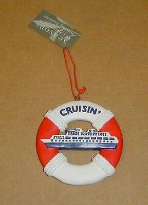 Cruise Ship Christmas Tree Ornament Holiday Decoration Vacation Cruisin NEW](Cruise Ship Decorations)