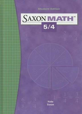 Saxon Math 5/4  - by Saxon Publishers
