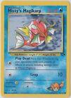 Gym Challenge Pokémon Individual Cards