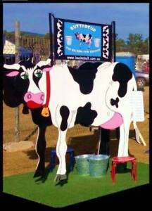 Buttercup the Milking Cow for Hire