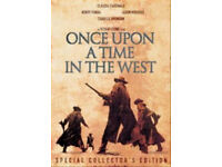 ONCE UPON A TIME IN THE WEST DVD (collectors edition 2 disc) BRAND NEW.