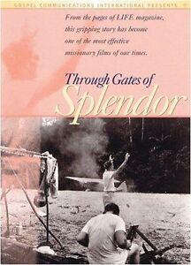 Through Gates of Splendor - Missionaries Bring Gospel to Auca Indians DVD