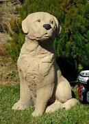 Garden Dog Statue
