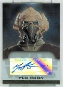Star Wars Autograph Card