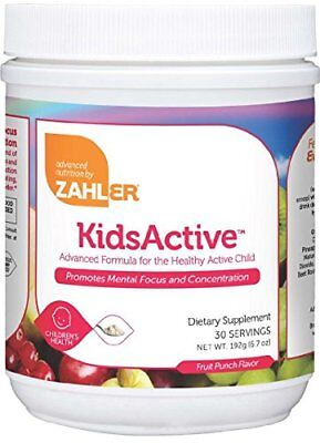 - Zahler Kids Active Powder Fruit Punch 192 grams EXP 12/20 FREE 2 DAY SHIPPING
