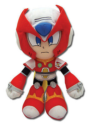"NEW Great Eastern GE-52527 Mega Man - 9"" Zero Plush Doll Toy Megaman X4"