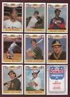 1987 Topps Baseball Cards Complete Set
