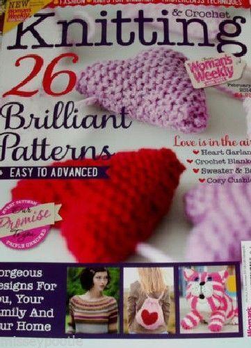 Knitting Crochet Magazine Ebay