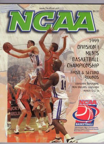NCAA Basketball Program | eBay