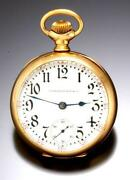 14k Gold Illinois Pocket Watch