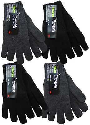 GL130 Men's 100% Acrylic 3M Thinsulate Insulated Thermal Knitted Winter Gloves 100% Acrylic Knit Glove