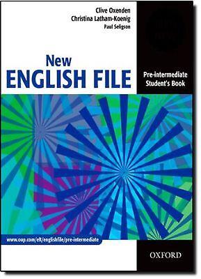 New English File: Pre-intermediate Student's Book: Student's Book Pr... NEW BOOK