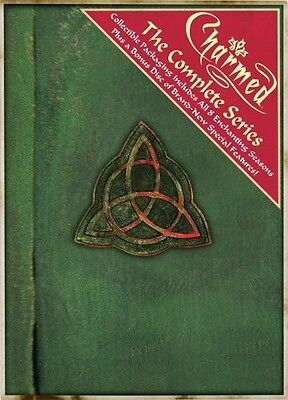 Charmed  The Complete Series  49 Discs   Book Of Sha Dvd Region 1