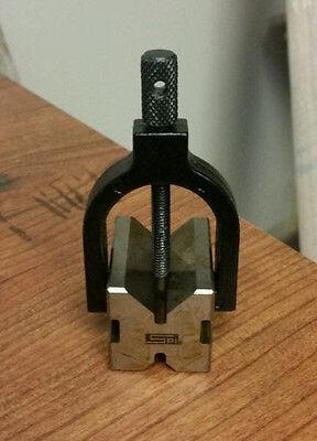V Block Clamp Set Pn 06494173 - 716 To 1316 Inch Capacity 90 Degree Angle
