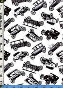 Antique Car Fabric
