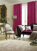Pink Stripe Curtains
