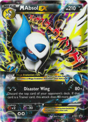 Pokemon MAbsol EX XY63 Rare 1x