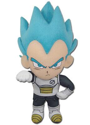 Dragon Ball Super Z Saiyan Blue SSGSS Vegeta Whis Suit Plush 8