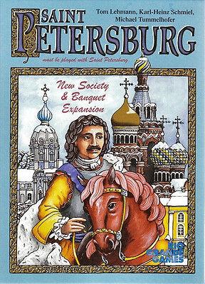 Rio Grande Games Saint Petersburg Expansion RARE Hard to FIND board game