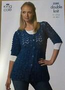 Ladies Cardigan Knitting Patterns DK
