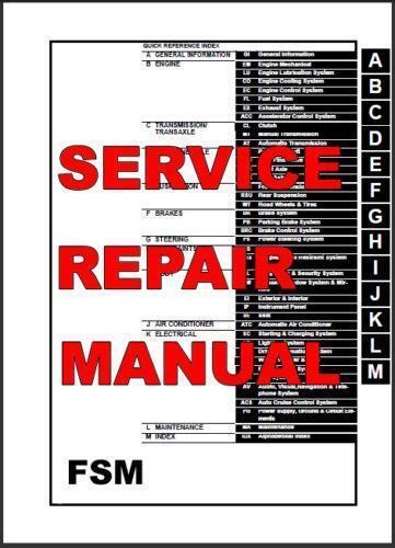 Infiniti Q45 Repair Manual