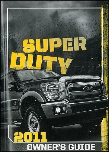 2005 ford f350 6.0 diesel owners manual