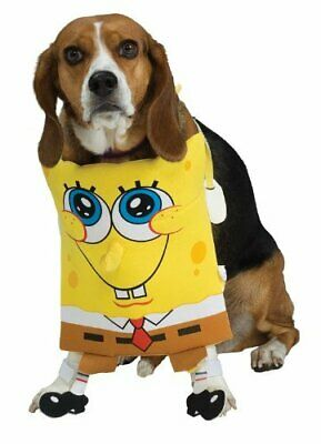 Spongebob Squarepants Dog Costume - LARGE - Chestpiece - Halloween - Rubie's (Spongebob Hund Kostüme)