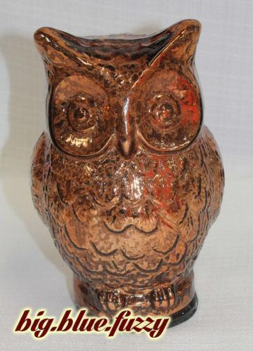 Mercury Glass Owl Ebay