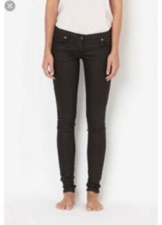Sass and bide womens size 25 black jeans