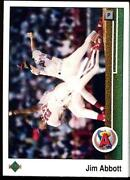 1989 Upper Deck Jim Abbott