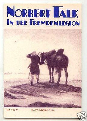 Norbert Falk der Fremdenlegionär 1-24  Vorkrieg Reprint