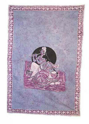 Batik Hanging Wall Krishna and Radha India 210 x 140 cm Peterandclo 9017
