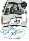 Press Pass Autographed Single Auto Racing Cards