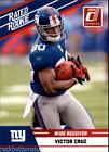 Donruss Rookie Victor Cruz Football Trading Cards