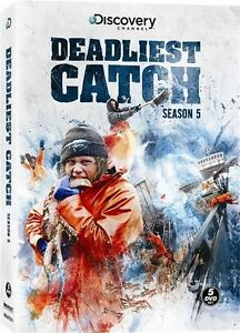 DEADLIEST CATCH SEASON 5 New Sealed 5 DVD Set