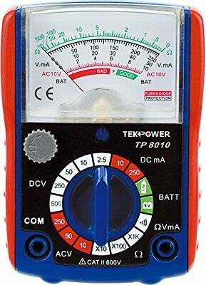 Tekpower Small Size Analog Multimeter With Battery Tester Tp8010