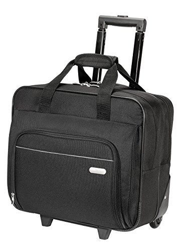 Targus Metro Rolling Case For 16-inch Laptop, Black (Tbr003us) 6