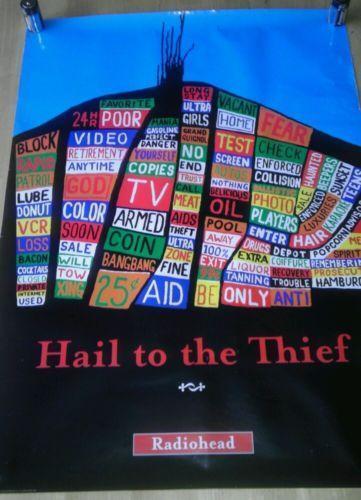 Radiohead Hail To The Thief Ebay