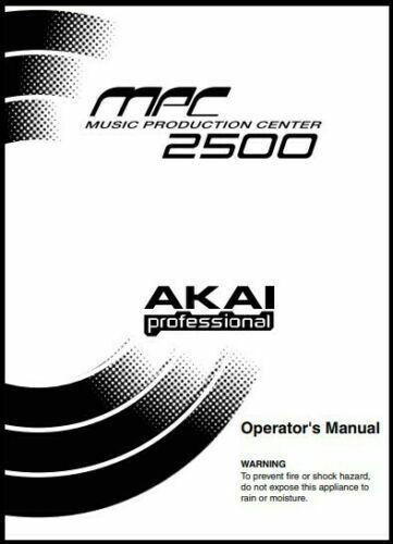 Akai MPC-2500 MIDI Production Center Owner