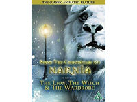 """The Lion, the Witch & the Wardrobe: the Classic Animated Feature"" on DVD - Brand New, Half Price!"