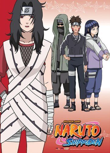 *NEW* Naruto Shippuden: Team Kurenai Wall Scroll by GE Animation